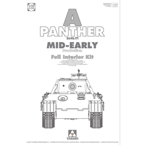 2098  1/35 Panther Ausf. A mid-early prod. (full interior)