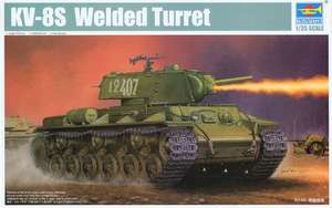 01568 1/35 KV-8S Welded Turret