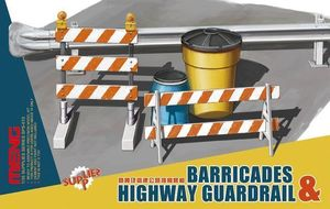 MESPS013  1/35 Barricades & Highway Guardrail