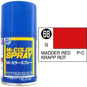 S-68 RED MADDER