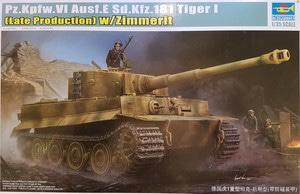 09540  1/35 Pz.Kpfw.VI Ausf.E Sd.Kfz.181 Tiger I (Late Production) w/Zimmerit