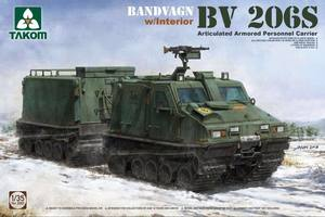 2083 1/35 Bandvagn BV206S Articulated Armored personnel Carrier