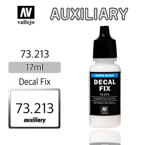Vallejo _ 73213 Auxiliary _ 17ml _ Decal Fix