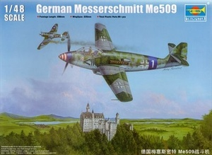 02849 1/48 German Messerschmitt Me-509 Fighter