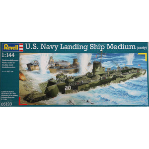 05123 1/144 U.S.Navy Landing Ship Medium (early) (New Tool- 2014)