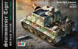 RM5012 1/35 German 38cm Assault Mortar SturmTiger I w/Full Interior & Workable Tracks