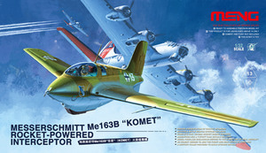 QS001   1/32 Messerschmitt Me163B 'Komet' Roket-Powered Interceptor