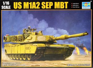 00927   1/16 US M1A2 SEP MBT