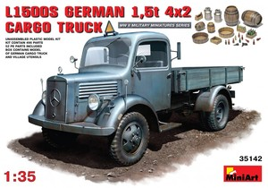 35142 1/35 MB 1500S German 1.5t Cargo Truck (New Tool-2012)  c