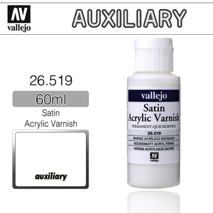 Vallejo _ 26519 Auxiliary _ 60ml _ Satin Acrylic Varnish