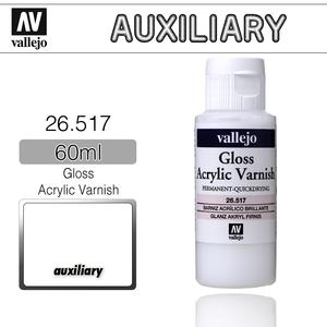 Vallejo _ 26517 Auxiliary _ 60ml _ Gloss Acrylic Varnish