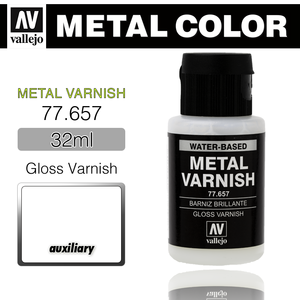 Vallejo _ 77657 Metal Varnish _ 32ml _ Gloss Varnish