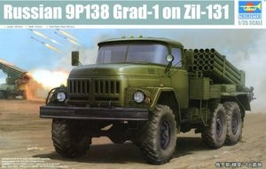 01032   1/35 Russian 9P138 Grad-1 on Zil-131