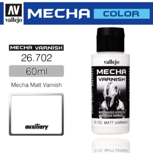 Vallejo _ 26702 Mecha Color _ Varnish _ 60ml _ Mecha Matt Varnish