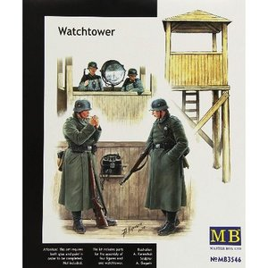 MB3546 1/35 WatchTower (4 Figures)