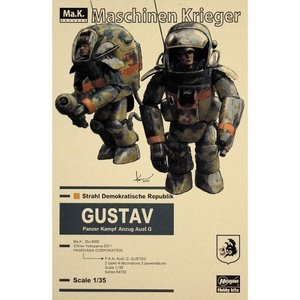 64102   1/35 P.K.A. Ausf Gustav (Two kits in the box)