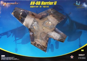60027 1/18 USMC AV-8B Harrier II 완성품 해리어 II