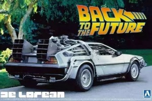 011850  Back to the Future Delorean