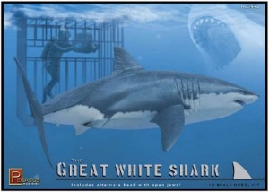 9501 1/18 Great white Shark & Diver
