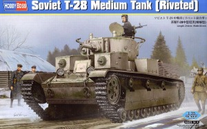 83853  1/35 Soviet T-28 Medium Tank (Riveted)
