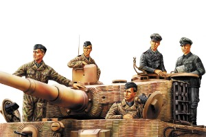 84401 1/35 German Panzer Crew 'Normandy 1944'