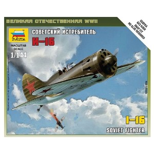 6254 1/144 Soviet WWII Fighter Polikarpov I - 16