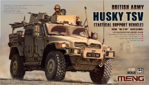 VS009 1/35 British Army Huskey TSV (Tactical Support Vehicle)