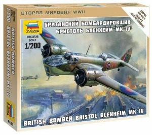 6230 1/200 Bristol Blenheim British WWII Bomber (New Tool- 2014)