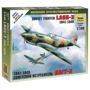 6118 1/144 Soviet Fighter LaGG-3~ Snap Kit (New Tool- 2011)
