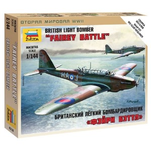 6218 1/144 British Light Bomber Fairey Battle