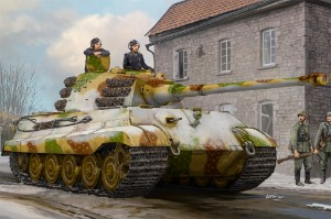 84532 1/35 Pz.Kpfw.VI Sd.Kfz.182 Tiger II Henschel Feb. 1945 Production