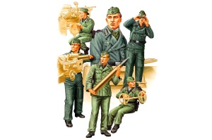 84407 1/35 German Self-Propelled Gun Crew Set Vol.2