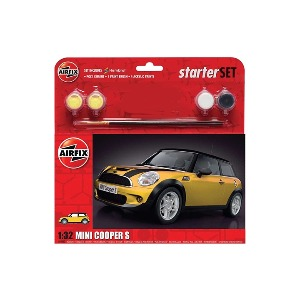 55310  1/32 MINI Cooper S Starter Set-Yellow