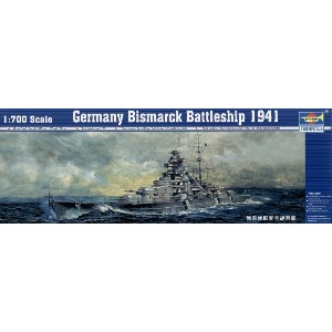 05711  1/700 German Battleship Bismarck 1941