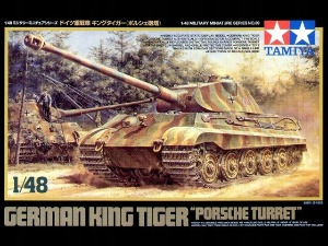 32539 1/48 WWII German King Tiger 'Porsche Turret'