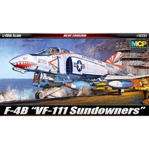 12232  1/48 F-4B VF-111 SUNDOWNERS 썬다우너스 MCP