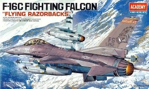 12204  1/48 F-16C FIGHTING FALCON FLYING RAZORBACKS