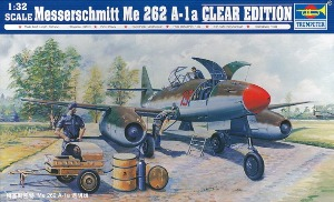 02261 1/32 Messerchmitt Me 262 A-1a Clear Edition
