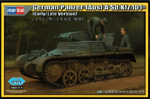 80145  1/35 German Panzer I Ausf.A Sd.Kfz.101 (Early/Late Version)