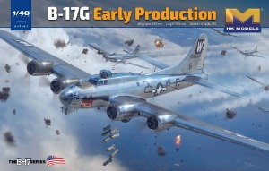 01F001  1/48 B-17G Flying Fortress Early type