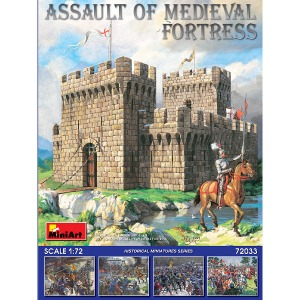 72033 1/72 Assault of Medieval Fortress-베이스 미포함