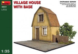36031 1/35 Village House with Base