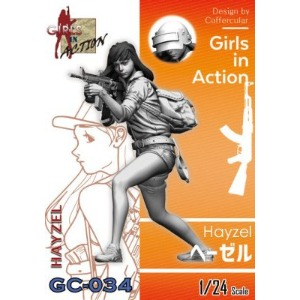 GC034 1/24 Girls In Action Heyzel