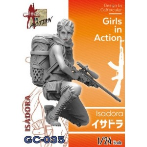 GC035 1/24 Girls In Action Isadora
