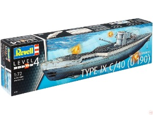 5133 1/72 German Submarine TYPE IX C/40 (U190)