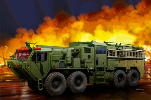 01067  1/35 M1142 HEMTT TFFT (Tactical Fire Fighting Truck)