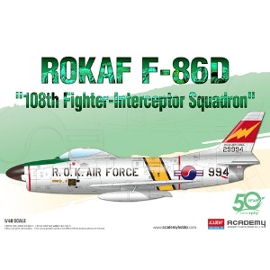 12337  1/48 ROKAF F-86D  108th Fighter-Interceptor Squadron