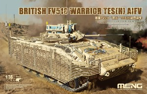 SS017  1/35 British FV510 Warrior TES(H) AIFV w/Walkable Tracks & Metal Barrel