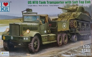 63502 1/35 US M19 Tank Transporter with Soft Top Cab