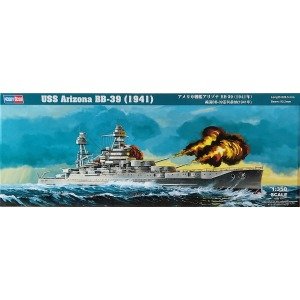 86501 1/350 American Battleship Arizona BB-39 1941